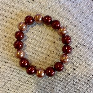 Kim Rogers Jewelry - Kim Rogers Faux Pearl Necklace and Bracelet